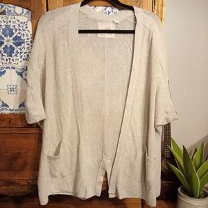 Anthropologie knit cardigan size Medium